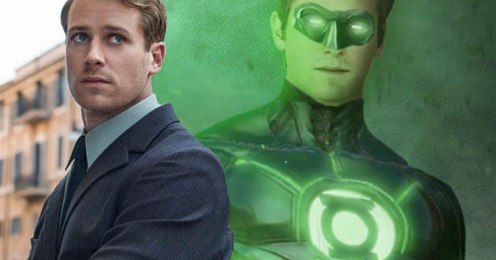 Armie Hammer Green Lantern