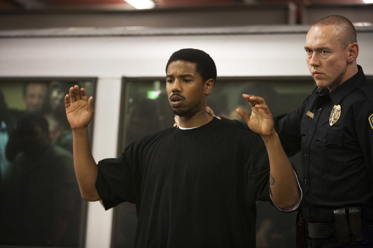 Michael B. Jordan and Kevin Durand in Fruitville Station