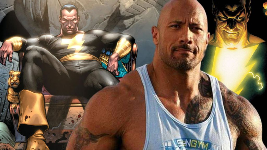Dwayne Johnson Shazam