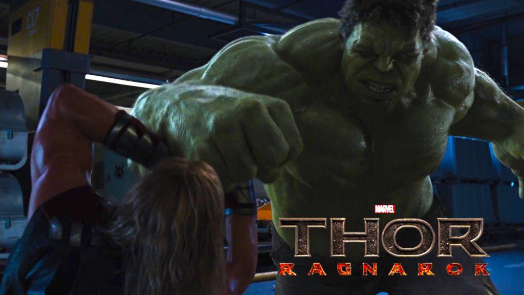 Hulk and Thor in Ragnarok