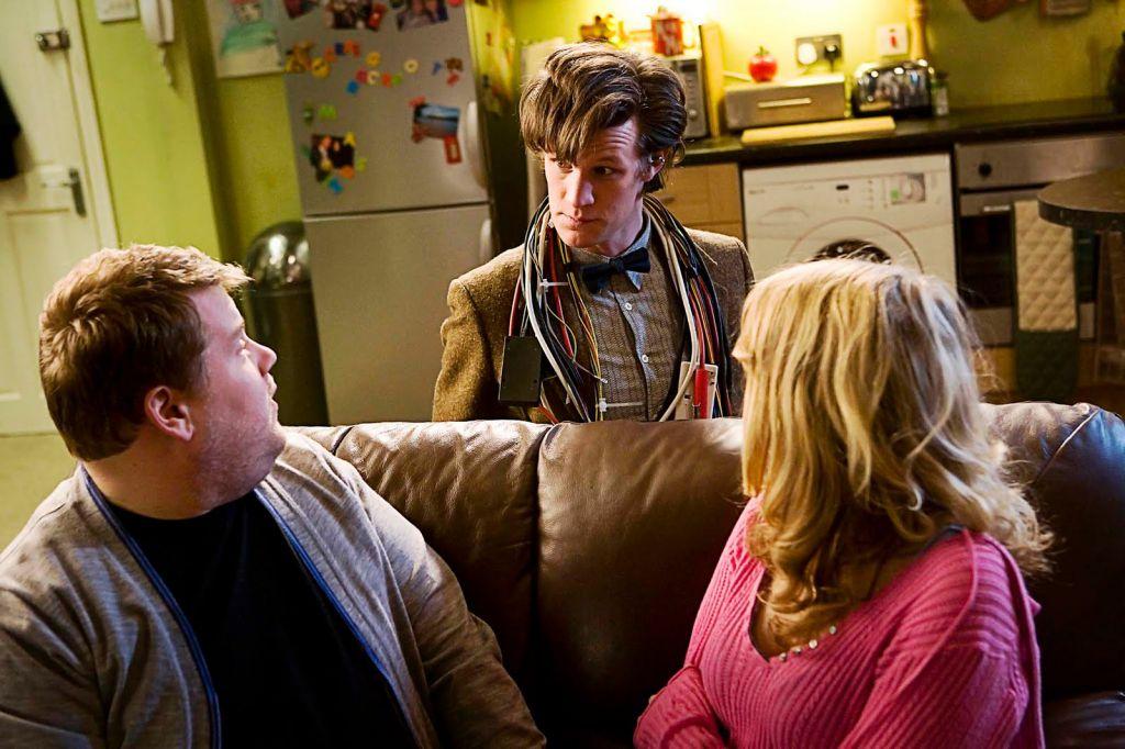 James Corden in Doctor Who