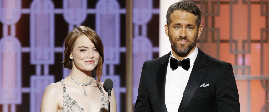 Ryan Reynolds and Emma Stone