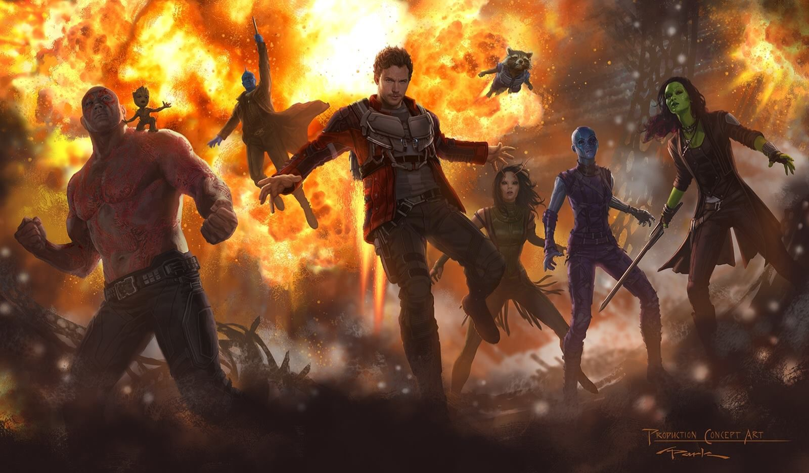 Guardians of the Galaxy Vol 2 Wallpaper