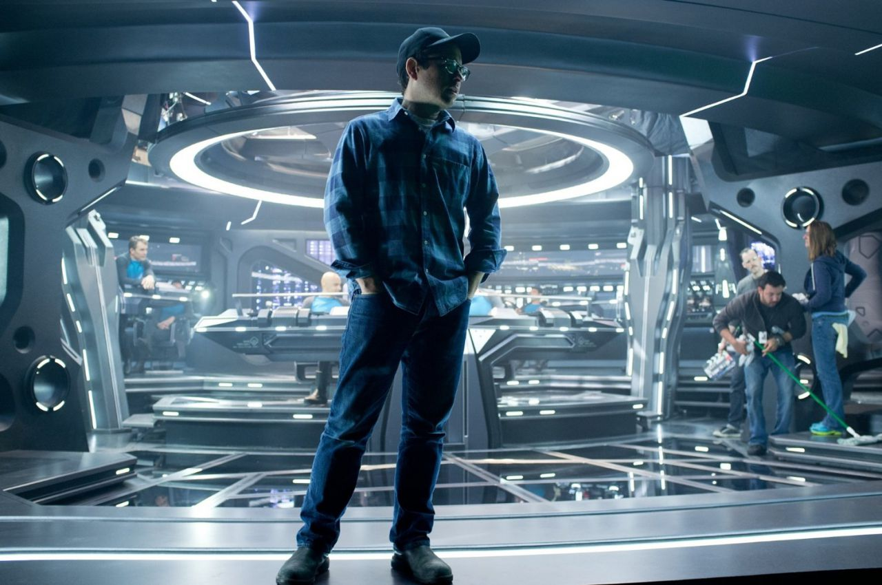 J.J. Abrams on Star Trek Into the Darkness Set
