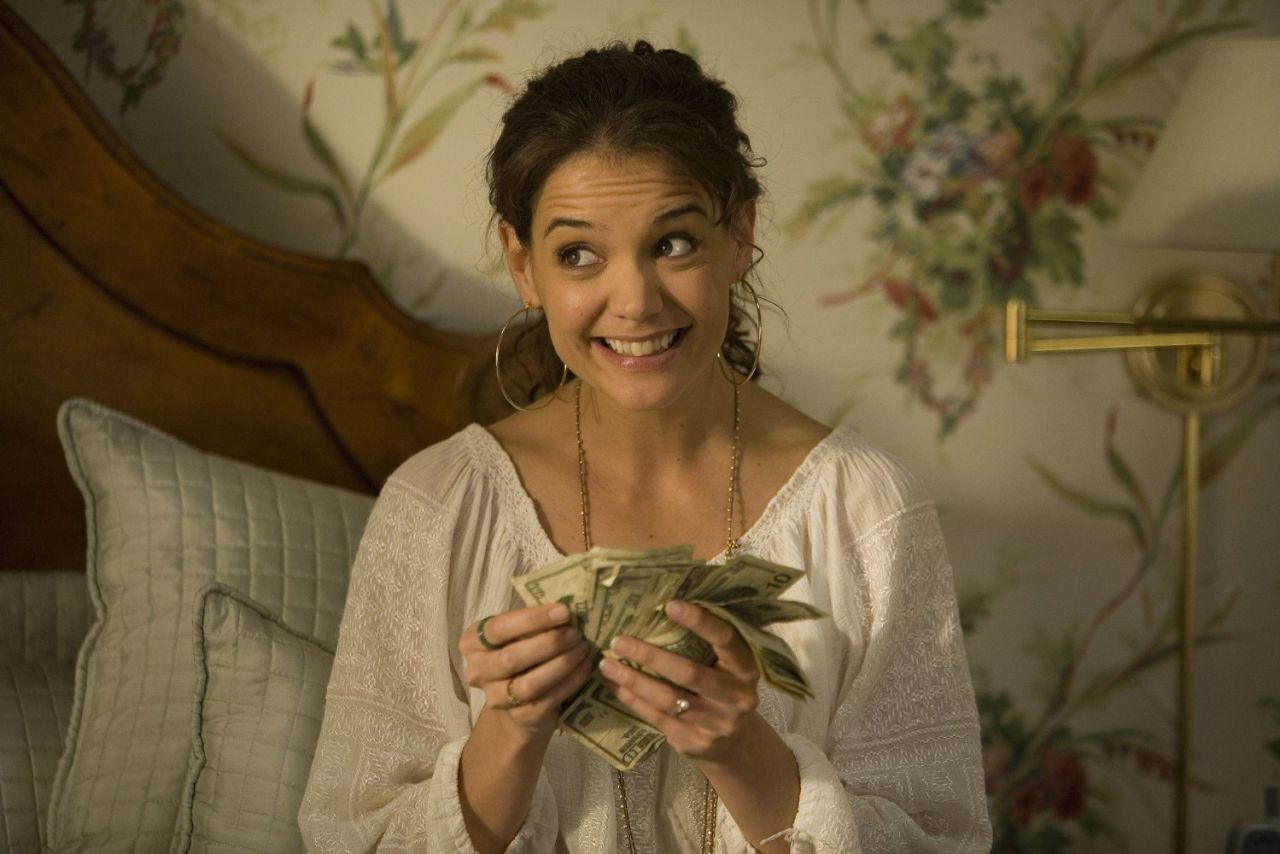 Katie Holmes in Mad Money