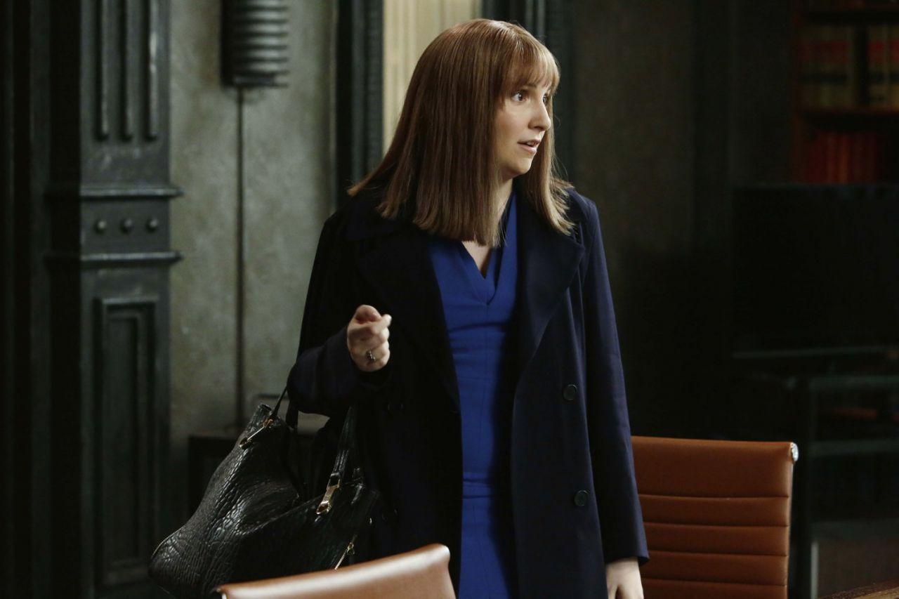 Lena Dunham in Scandal