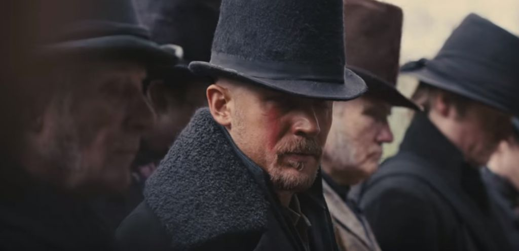 Tom Hardy in Taboo