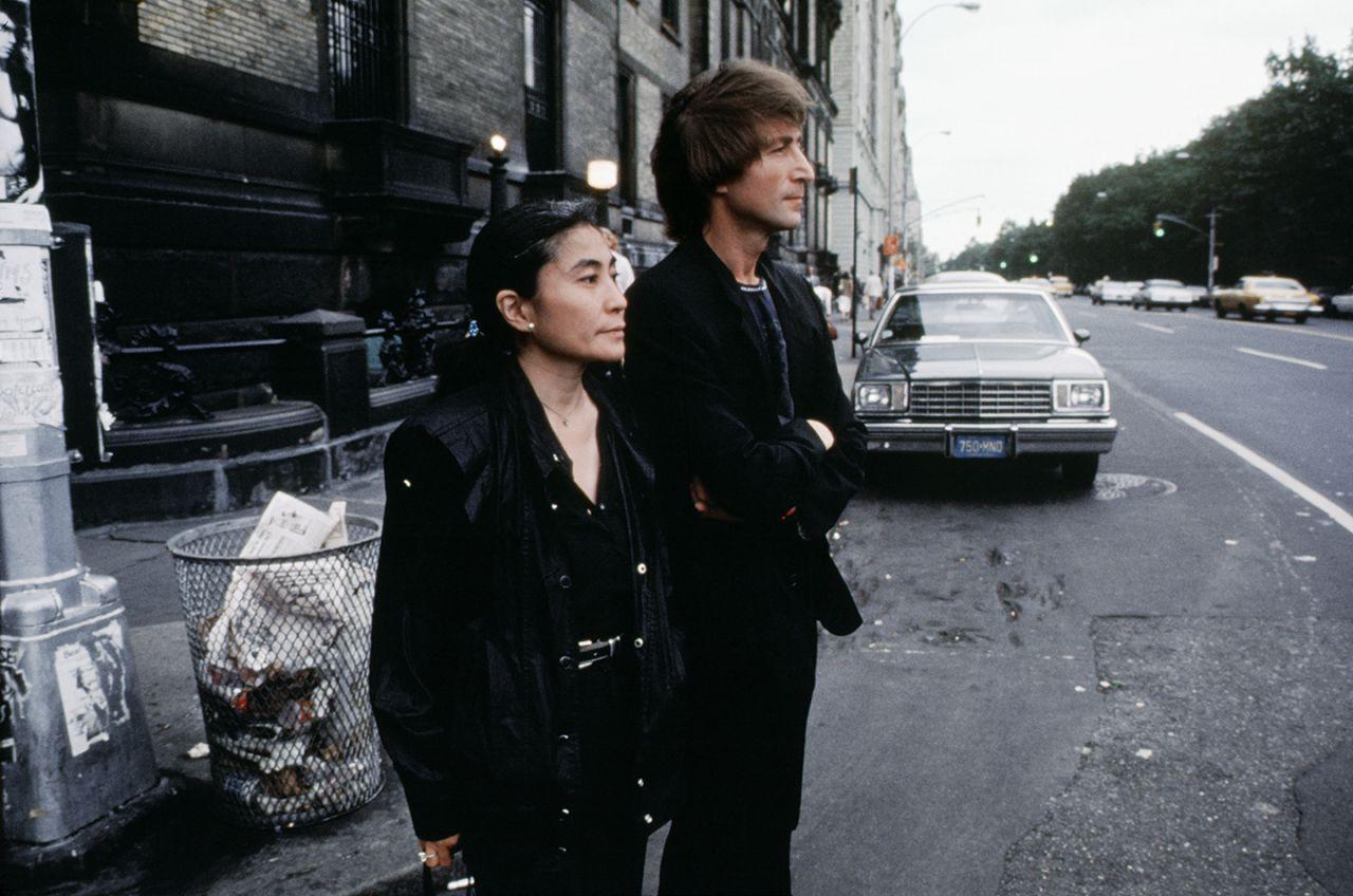 Yoko Ono John Lennon in NYC