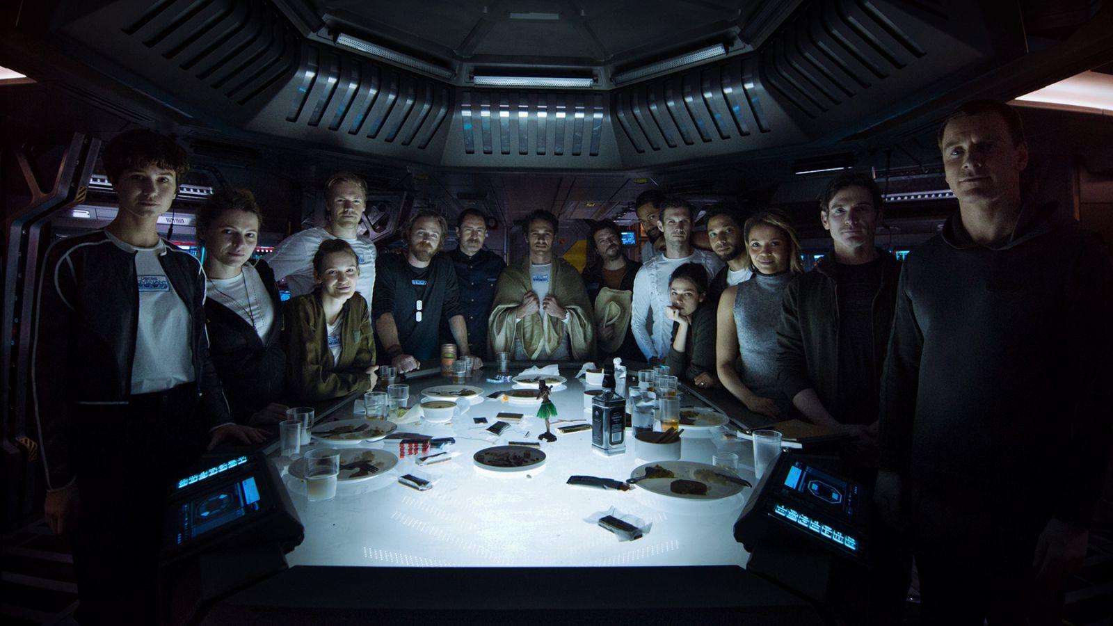 Alien: Covenant Crew
