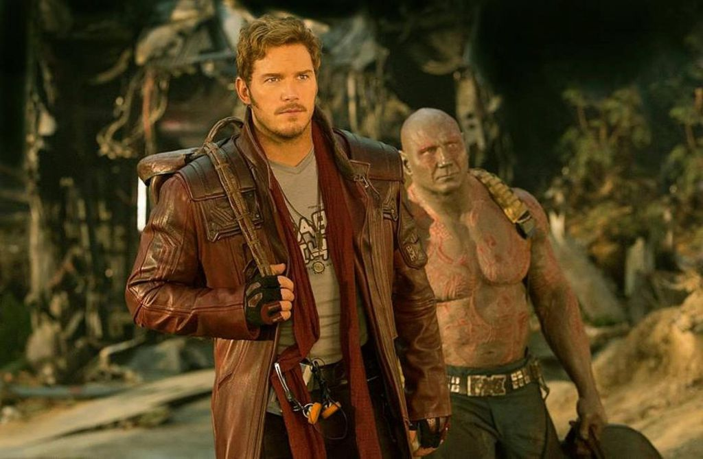 Chris Pratt Guardians of the Galaxy Vol 2