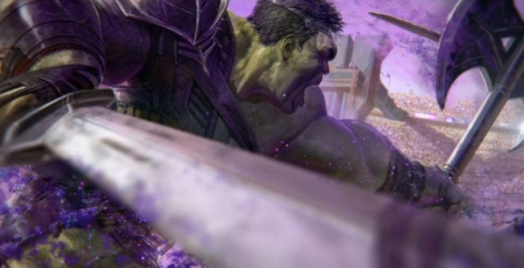 Hulk Thor Ragnarok Concept Art