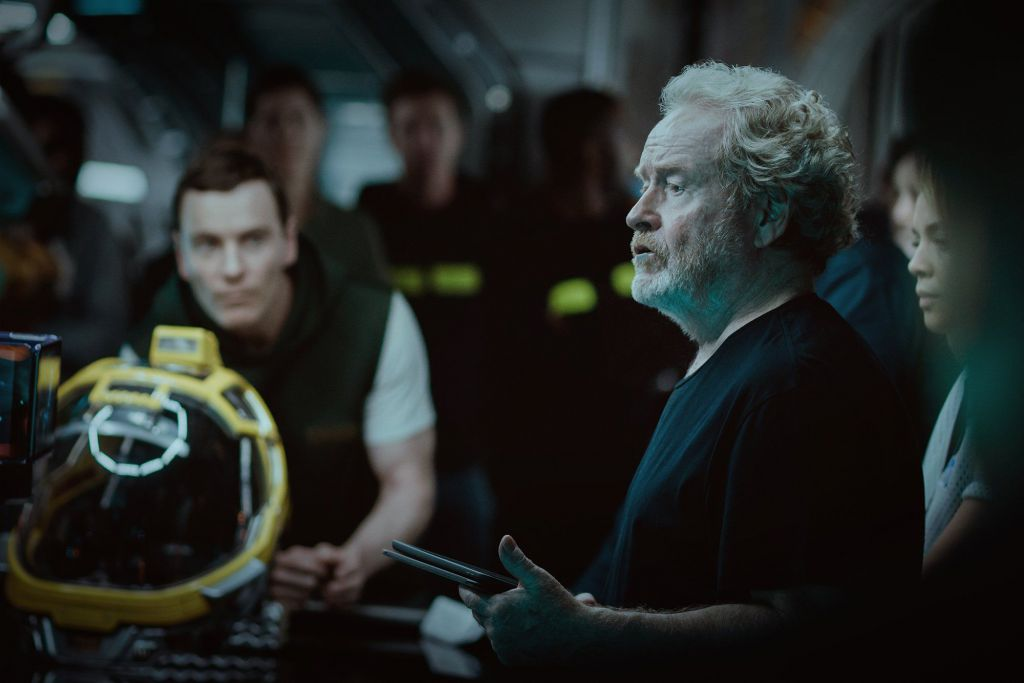 Ridley Scott Directing Alien Covenant