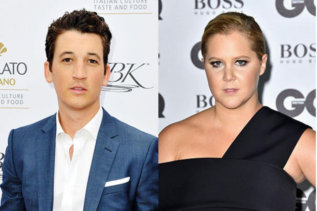 Amy Schumer and Miles Teller in Thank You for Your Service