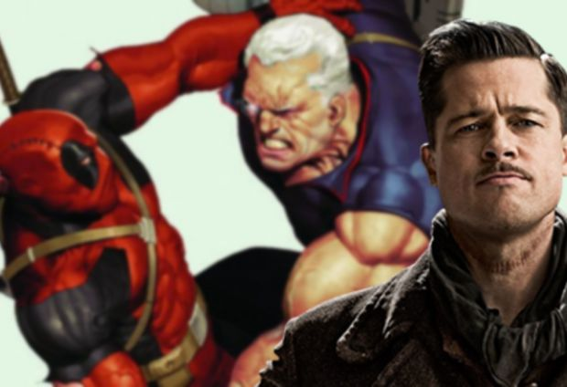 Brad Pitt Contemplated Cable Offer for Deadpool 2