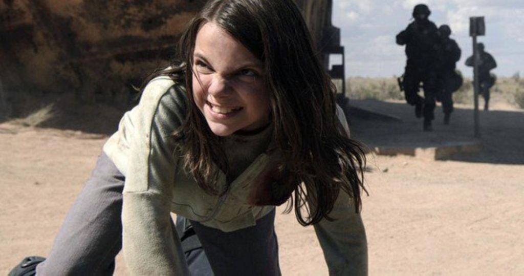 Dafne Keen as X-23 in Logan