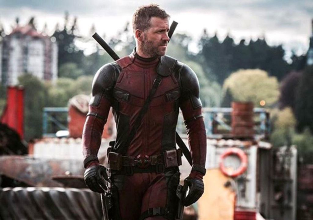 Ryan Reynolds on Deadpool Set