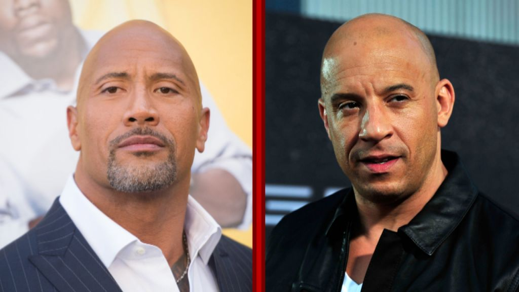Dwayne Johnson and Vin Diesel Actor Beef