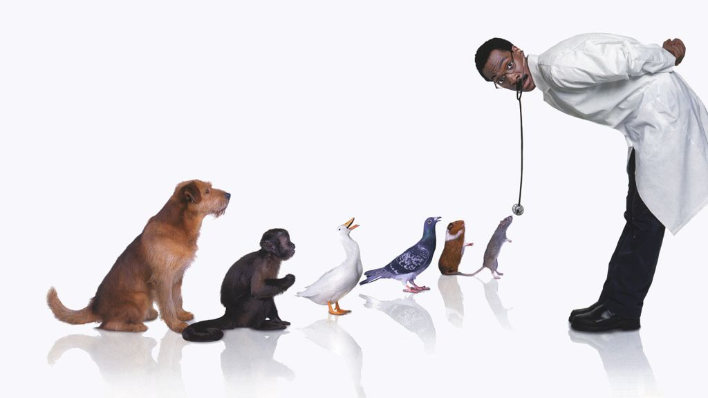 Eddie Murphy as Dr. Dolittle