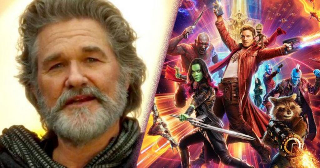 Kurt Russell in Guardians of the Galaxy