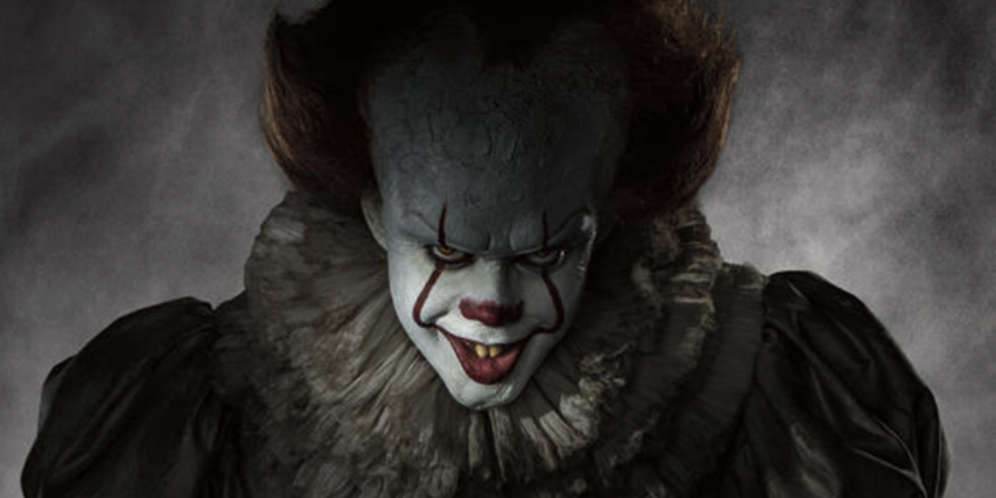 Wallpaper It Clown Bill Skarsgard Horror 2017 Hd: The Terrifying Return Of Pennywise As Moviegoers Get