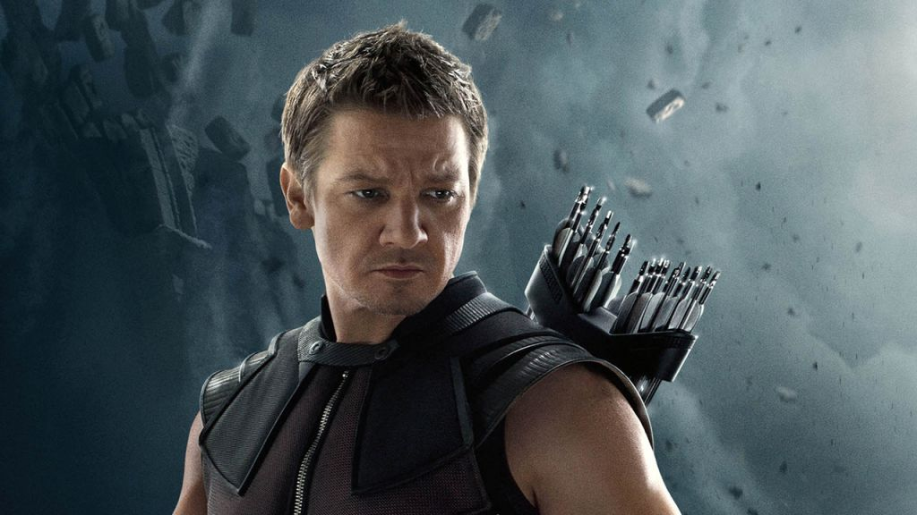 Jeremy Renner as Hawkeye