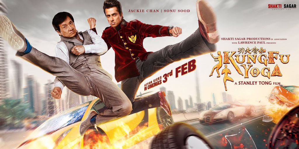 Jackie Chan in Kung Fu Yoga