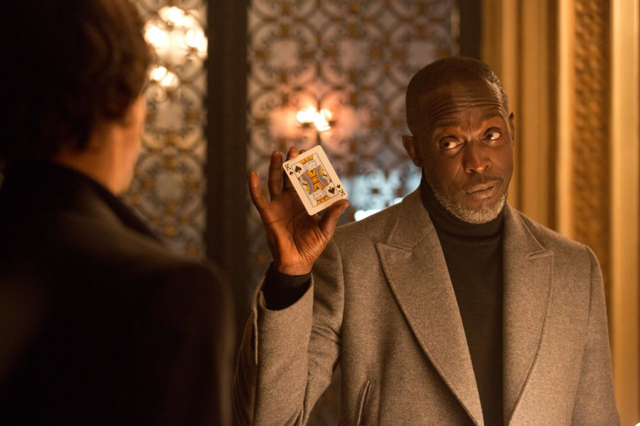 Michael K. Williams The Gambler