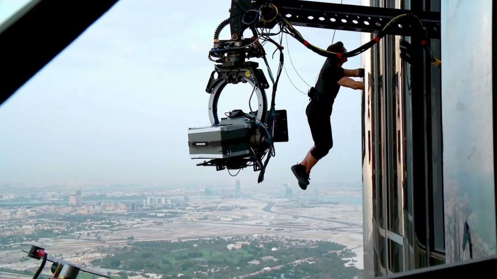 Burj Khalifa Mission Impossible