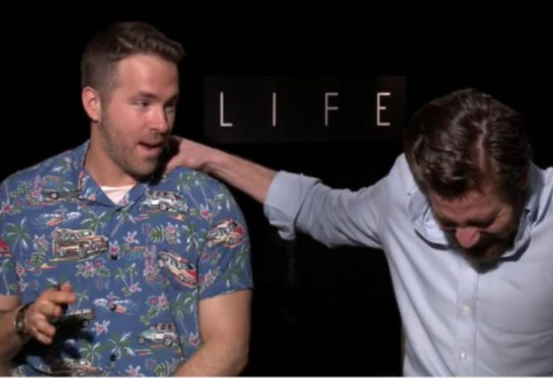Life Stars Ryan Reynolds and Jake Gyllenhaal In Hysterics During Interview
