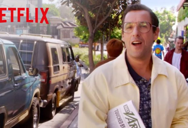 Netflix and Adam Sandler Ink Deal For More Movies