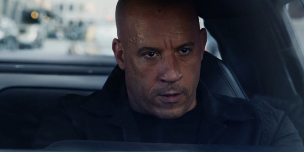 Vin Diesel in Fate of the Furious