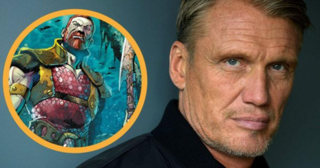 Dolph Lundgren Joins Aquaman In King Nereus Role