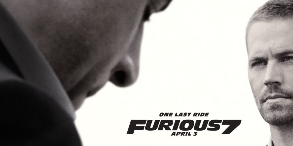 Furious 7 Poster with Paul Walker