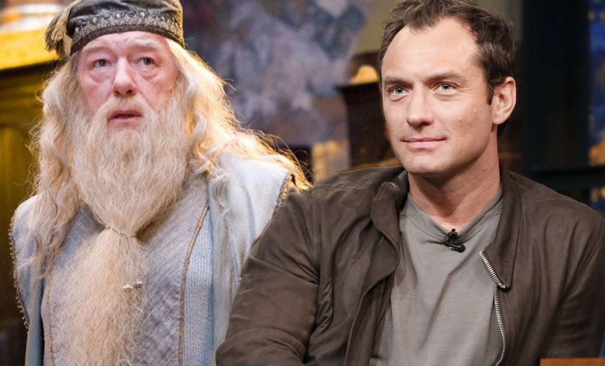 Jude Law To Play Young Dumbledore In Fantastic Beasts 2