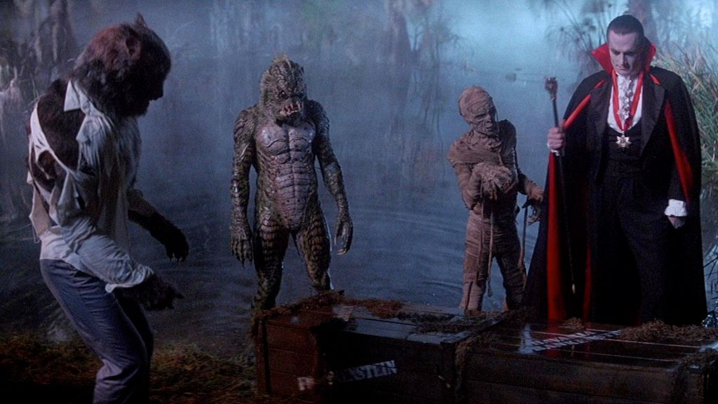 Universal's Mummy, Dracula and Wolfman