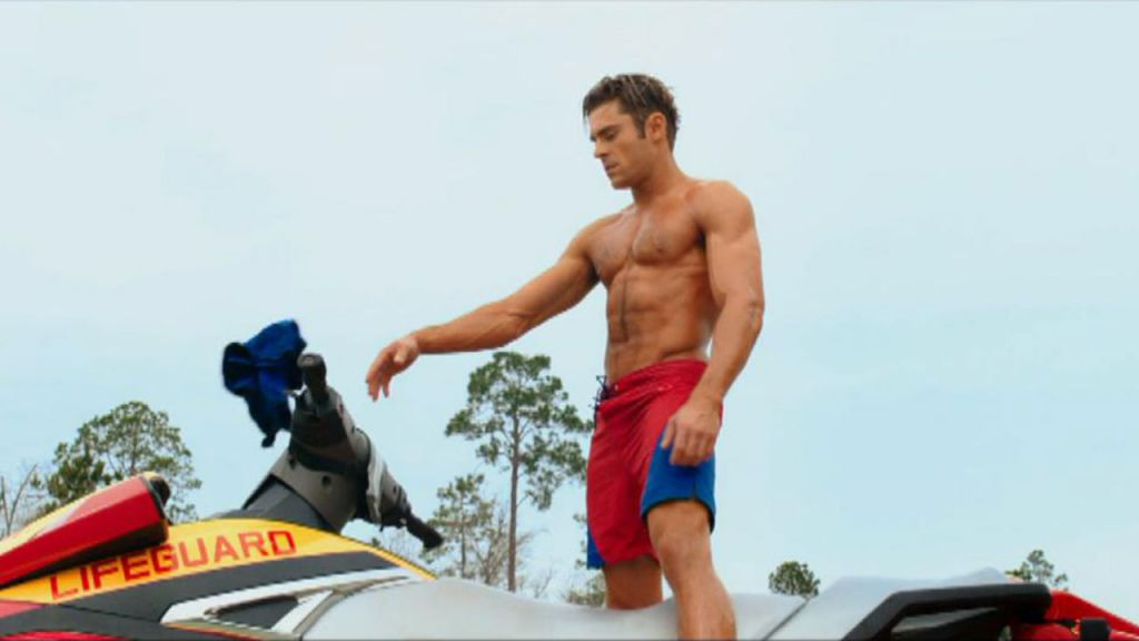 Zac Efron in Baywatch