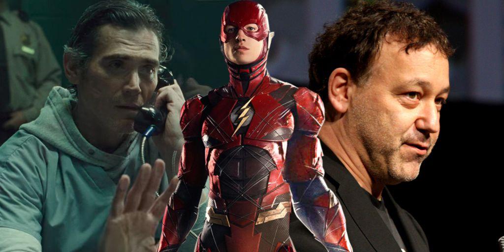 Billy Crudup and Sam Raimi The Flash