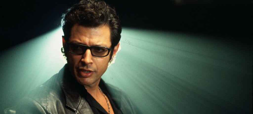 Jeff Goldblum as Dr Ian Malcom in Jurassic Park