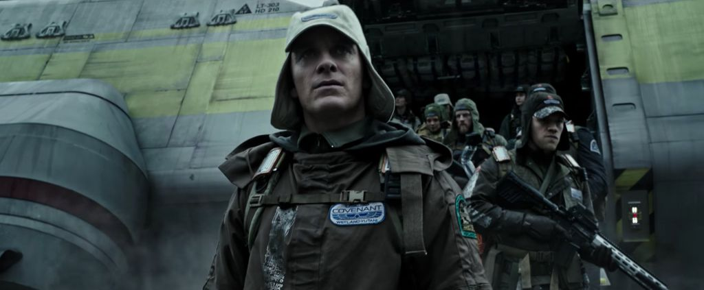 Michael Fassbender Alien Covenant