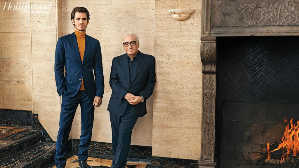 Andrew Garfield and Martin Scorsese in Silence