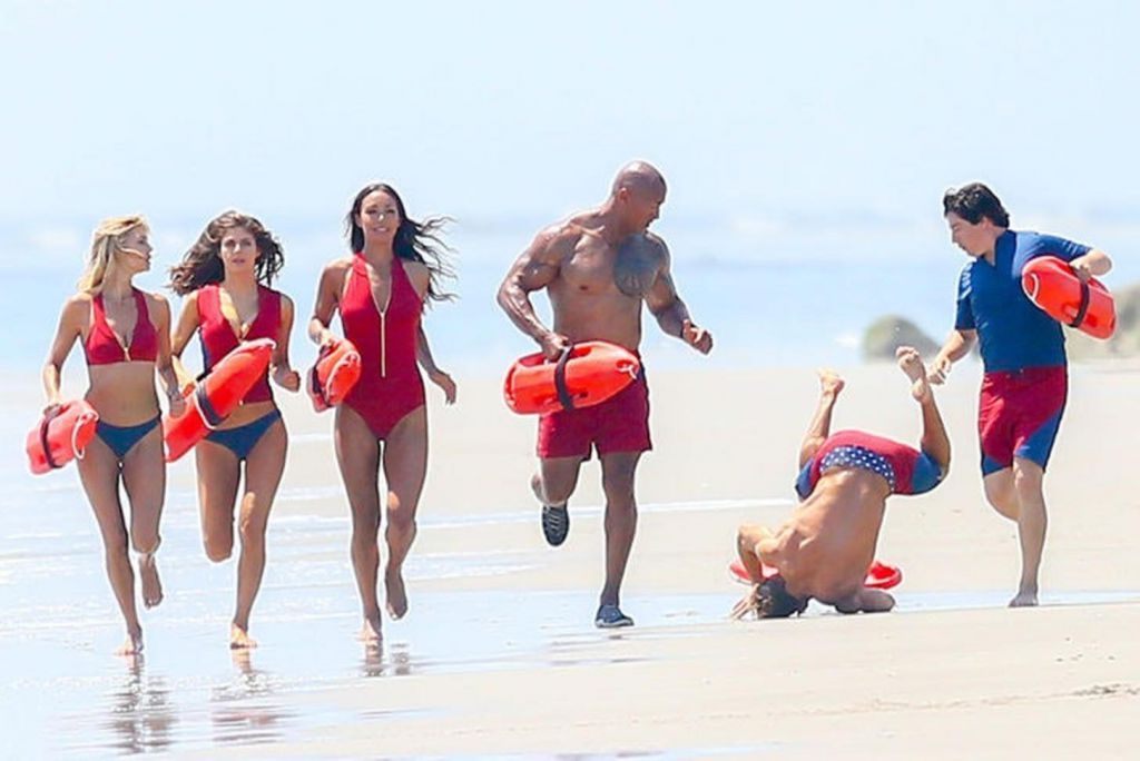 Baywatch Action Scene