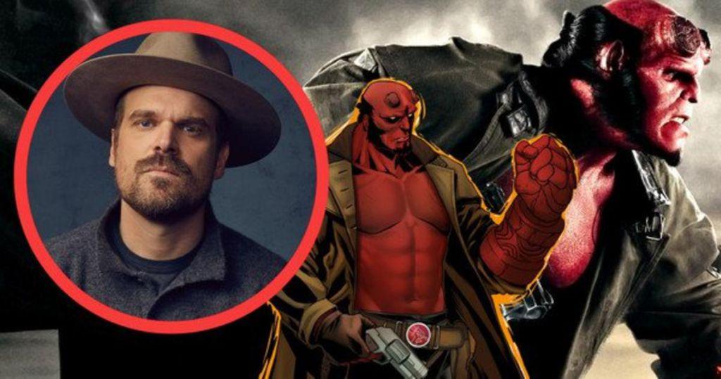 David Harbour for Hellboy Remake