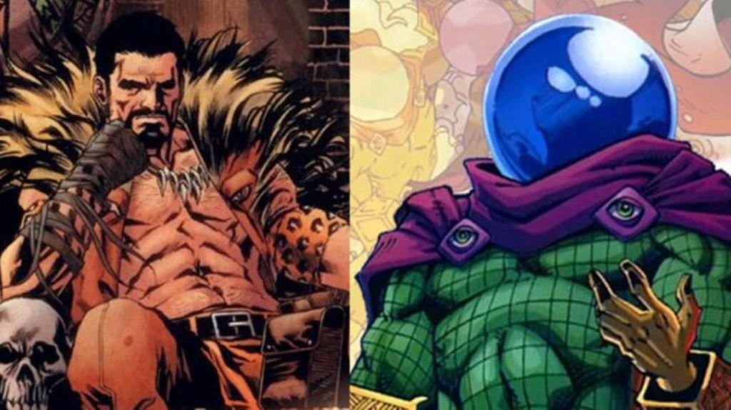 Kraven Mysterio Spider Man Marvel Villains