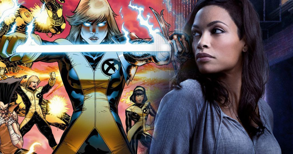 Rosario Dawson New Mutants