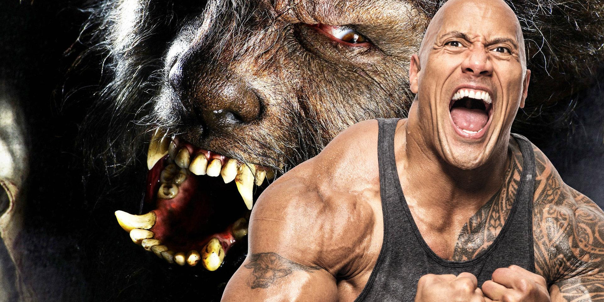 Dwayne Johnson Earmarked For The Wolfman In Dark Universe