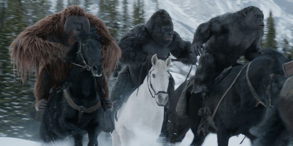 Maurice in War for the Planet of the Apes