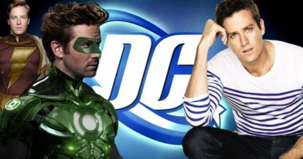 Armie Hammmer DC Green Lantern