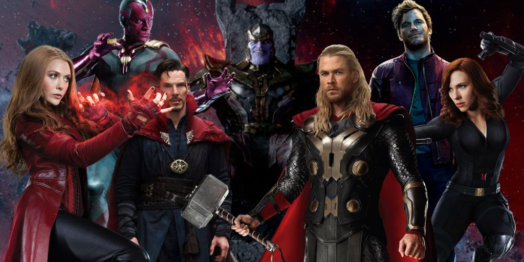 Avengers Guardians MCU