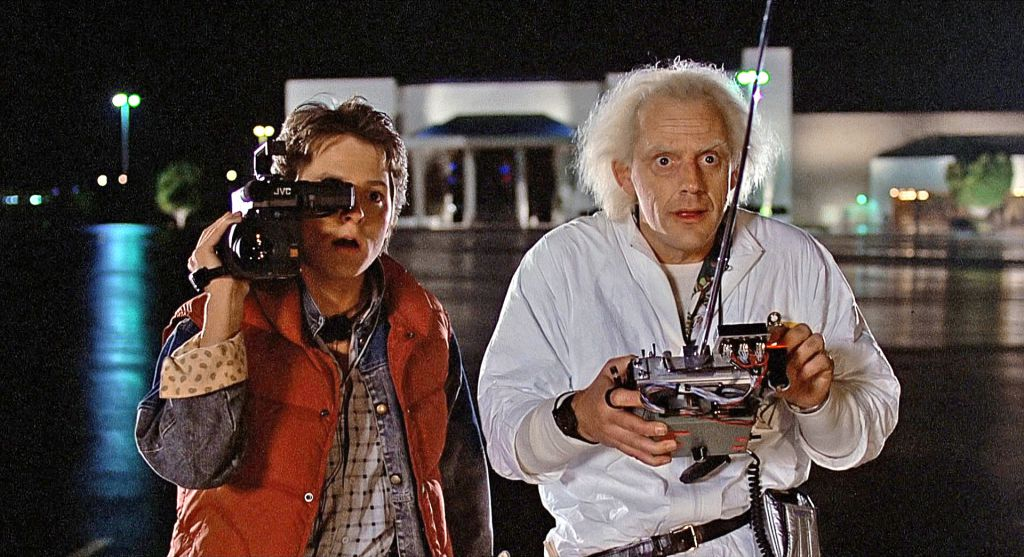 Back to the Future Scene