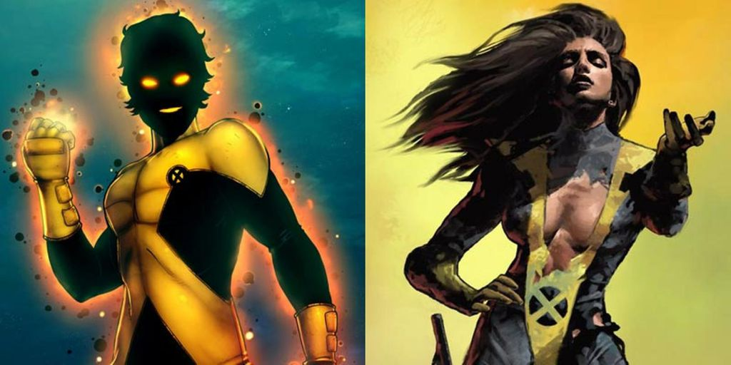 Sunspot and Mirage in New Mutants